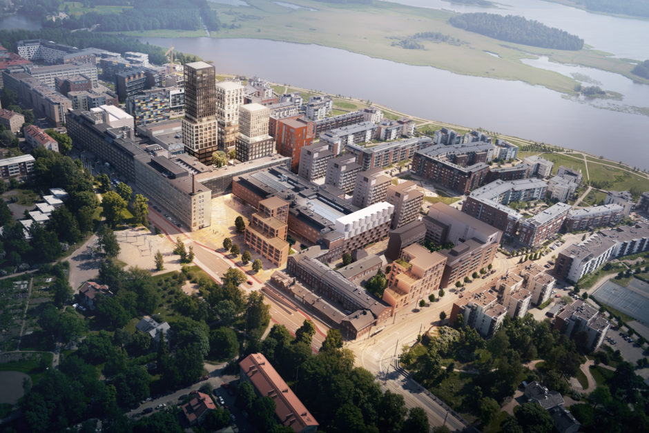Arabia factory block masterplan by Verstas Architects and AOA