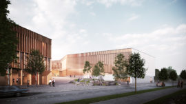 Kari Campus education, sports and leisure centre in Rauma by Verstas Architects