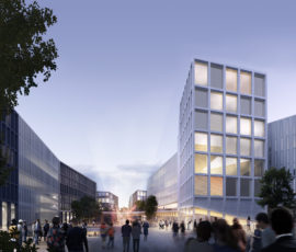 Campus Prague plan proposal by Verstas Architects