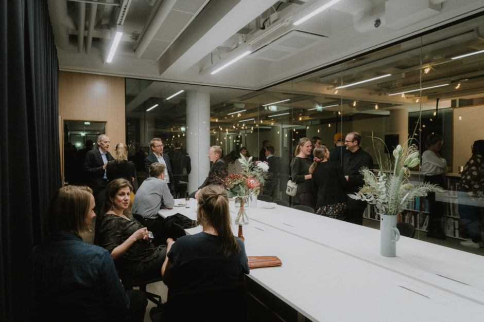 Housewarming at the new Verstas Architects office