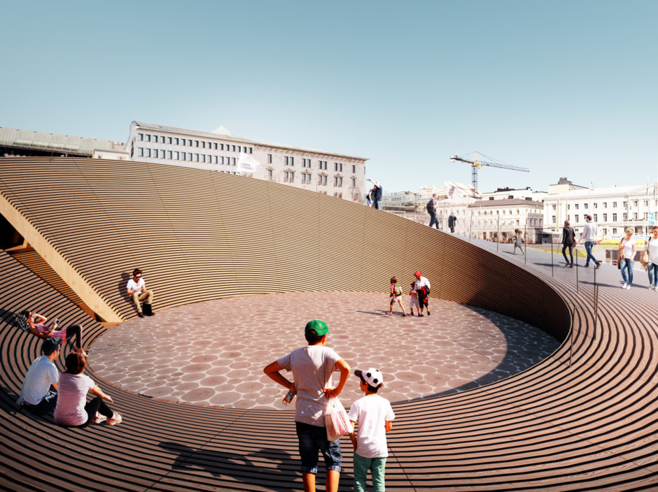 Helsinki Biennal Pavilion by Verstas Architects