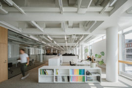 Office refurbishment by Verstas Architects