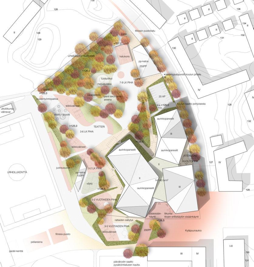 Lamminrahka Education Centre by Verstas Architects