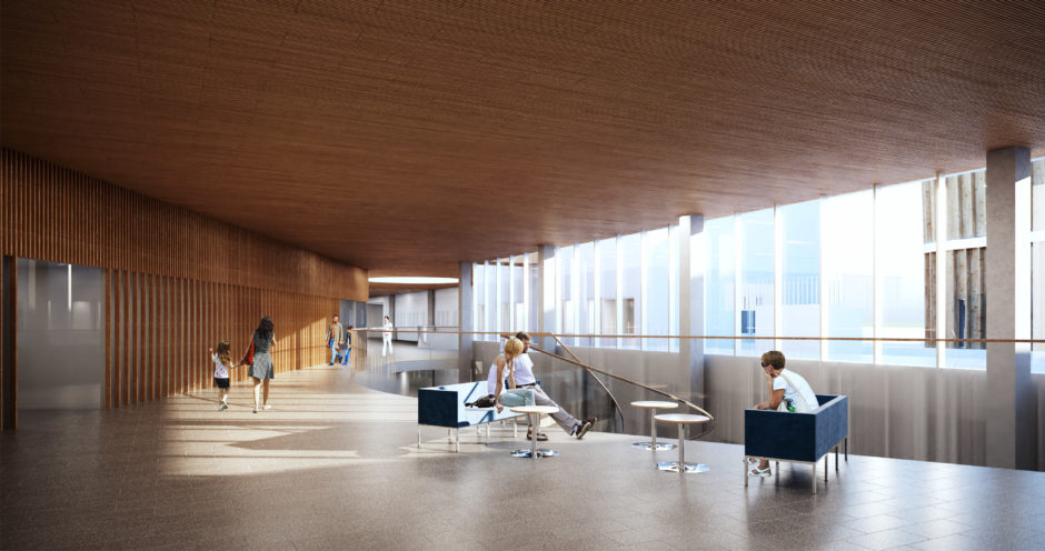 Lapland Central Hospital by Verstas Architects